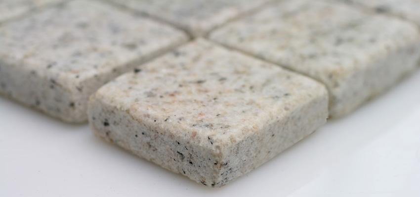 Mosaikfliesen Kashmir White Granit