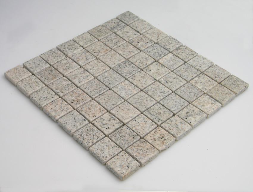 Mosaikfliesen Imperial White Granit