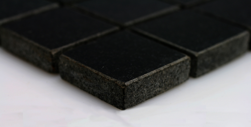 Mosaikfliesen Nero Assoluto Granit