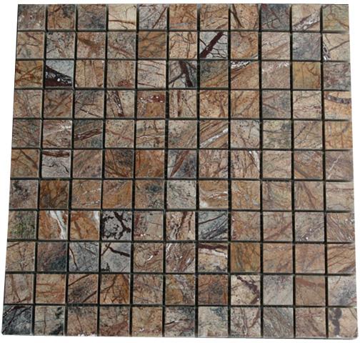 Mosaikfliesen Rain Forest Marmor