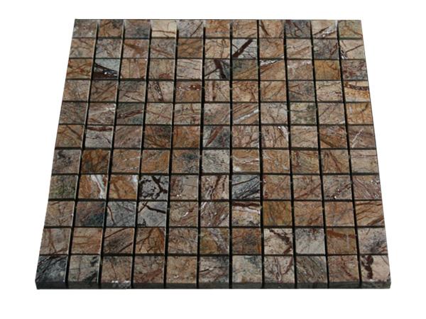 Rain Forest Marmor Mosaikfliesen