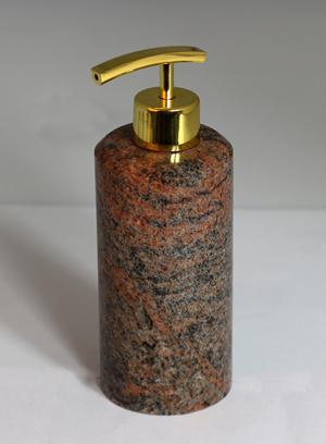 Multicolor Rot Granit Designer Spender